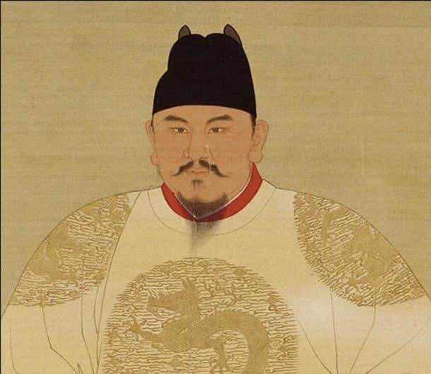 Pintura oficial del Emperador Hongwu