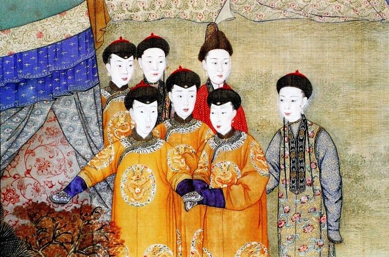 Concubinas y su emperador