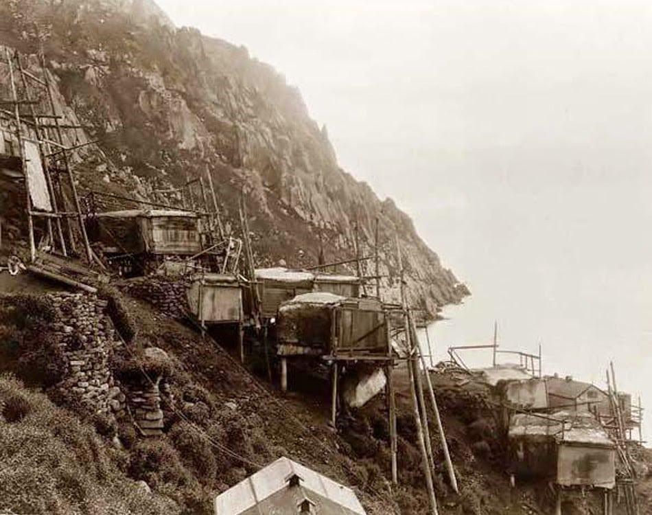 Cabañas del pueblo Anjikuni