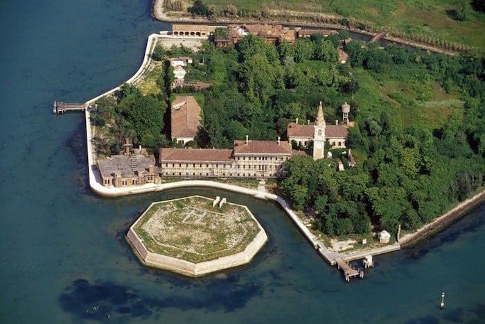 Isla desde vista superior