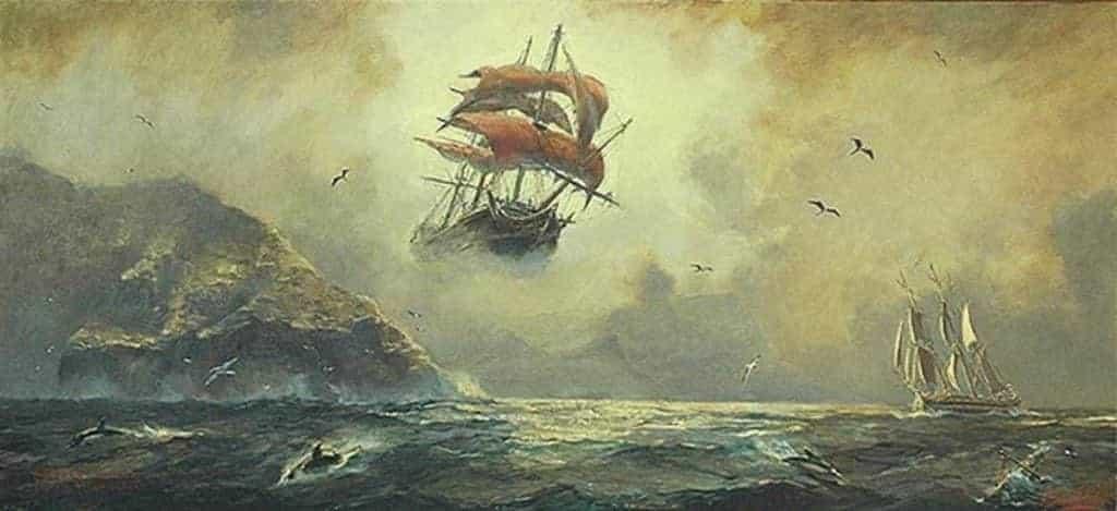 el holandés flotando