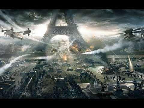 guerra mundial espacial